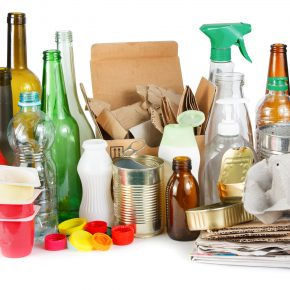 Various goods that could be recycled.