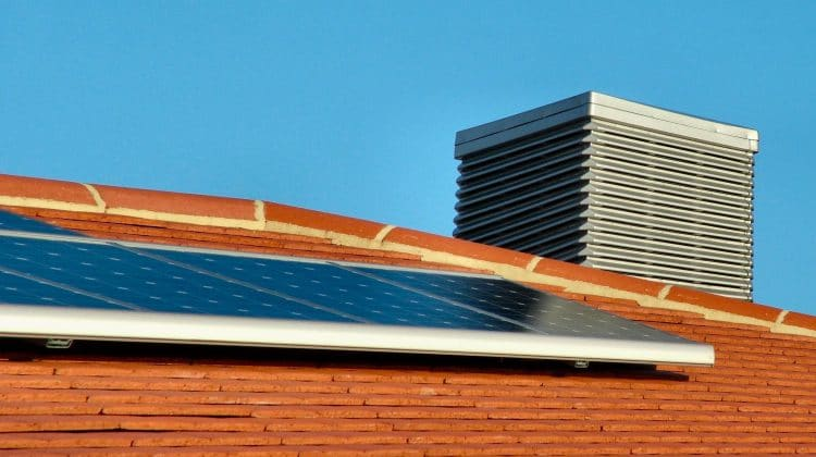 A basic solar panel that can be bought.