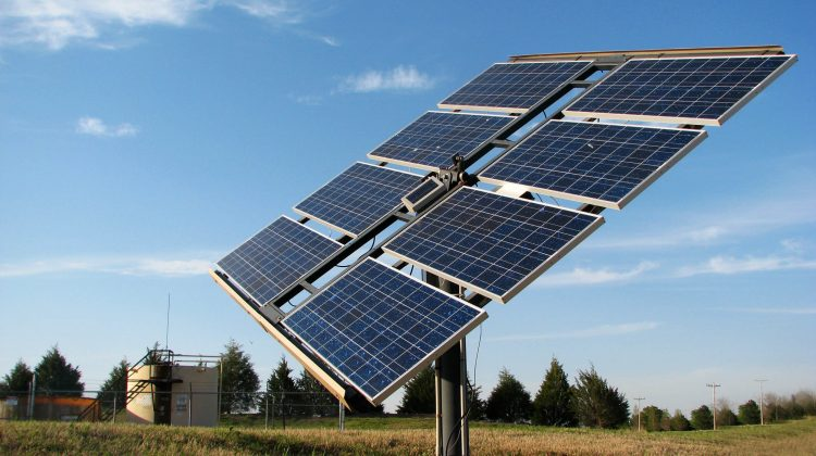 A renewable energy installation that might have needed financing.