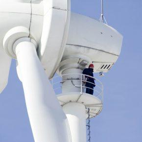 How wind turbines work.
