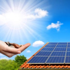 The benefits of solar energy.