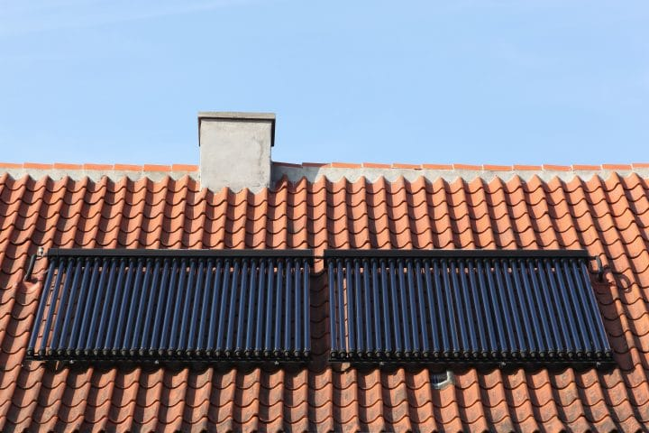 A solar thermal system that can reduce your heating bills.