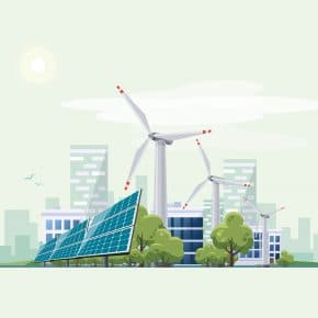 Some of the different types of renewable energy.