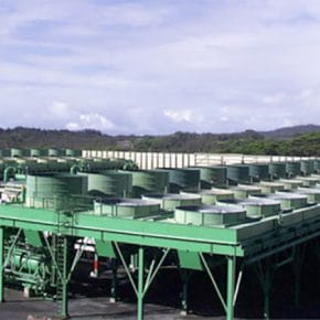 Hawaii's Puna Geothermal Venture power plant.