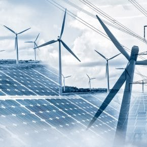 Using more renewable energy.