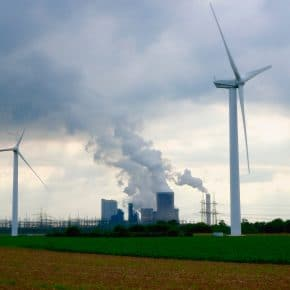 Renewable vs nonrenewable energy sources.