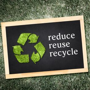 Reduce, reuse, recycle - the 3 R's of waste management.