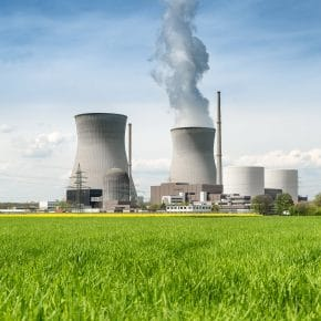 A nuclear power plant in Germany, but is nuclear renewable?